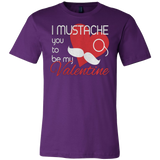 I MUSTACHE YOU TO BE MY VALENTINE T-SHIRT - Vietees Shop Online