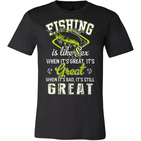 FISHING IS LIKE SEX - Vietees Shop Online - 1