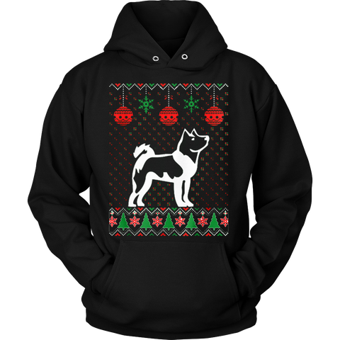 Akita Dog Ugly Christmas Sweater Xmas Hoodie