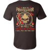 SATAN IS AFRAID FIREFIGHTER SHIRT - Vietees Shop Online