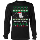 Meow Kitty Ugly Christmas Sweater - Vietees Shop Online
