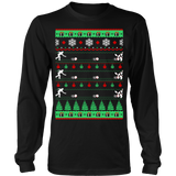 Bowlers bowling christmas ugly sweater - Vietees Shop Online - 8