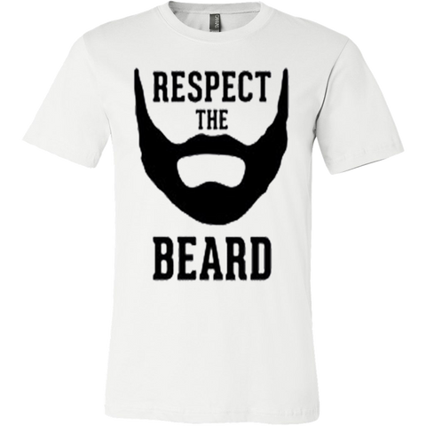 Respect The Beard T-shirt - Vietees Shop Online