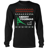 Merry Yogismas-Ugly Christmas Sweatshirt - Vietees Shop Online