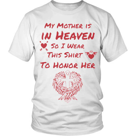 My Mother is in Heaven - Vietees Shop Online