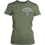 Never underestimate the tremendous skill of a nurse who is also a us veteran both side t shirt - Vietees Shop Online