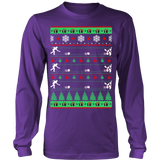 Bowlers bowling christmas ugly sweater - Vietees Shop Online - 13