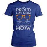 Proud Mom of Awesome Cat - Vietees Shop Online
