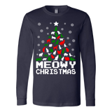 Meowy christmas cat tree ugly sweater - Vietees Shop Online