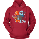 Pokemon Mafia - Charmander and Squirtle Hoodie - Vietees Shop Online
