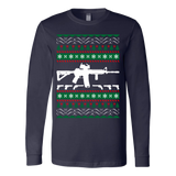 Ar 15 ar15 ugly christmas sweater xmas - Vietees Shop Online - 2