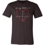 Valentine s Day Love Heart Equation Math T-shirt - Vietees Shop Online