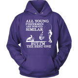 FISHING BEST ONE HOODIE - Vietees Shop Online