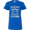 Image of I'M A PROUD MOM OF A FREAKING AWESOME VETERAN - Vietees Shop Online