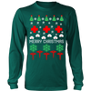 Merry Christmas nurse cna ugly sweater - Vietees Shop Online
