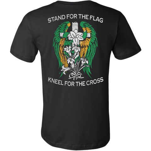 KNEEL FOR THE CROSS T-SHIRT - Vietees Shop Online