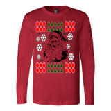 Ugly Christmas Sweater With Santa - Vietees Shop Online