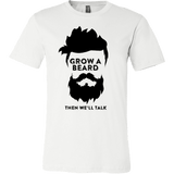 GROW A BEARD T-SHIRT - Vietees Shop Online