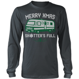 Merry xmas shitters full christmas sweater ugly - Vietees Shop Online