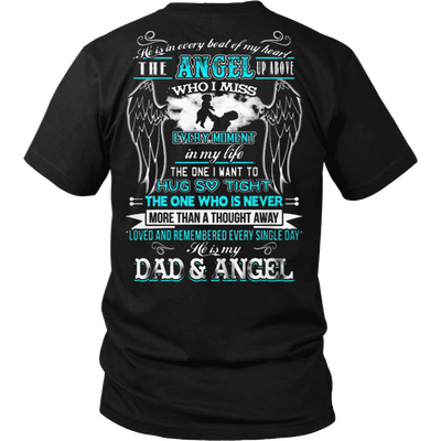 Dad And Angel - Vietees Shop Online