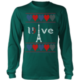 Peace and pray for paris ugly christmas sweater xmas - Vietees Shop Online - 11