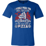 HALLOWEEN PIZZA ZOMBIES TSHIRT - Vietees Shop Online