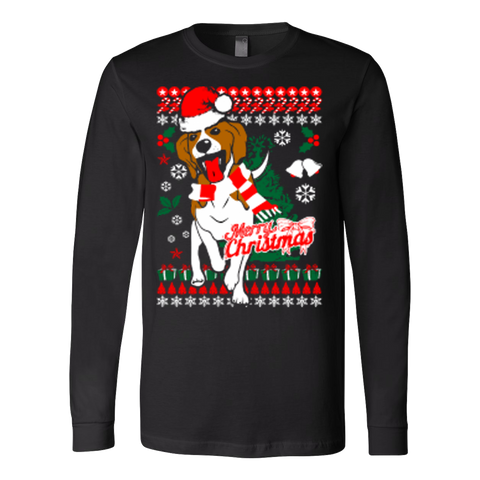 Beagle Dog Ugly Christmas Sweater Holiday Xmas - Vietees Shop Online - 1
