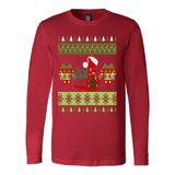 Meowy ugly christmas sweater xmas - Vietees Shop Online