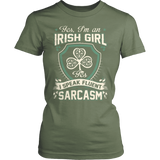 I AM AN IRISH GIRL T-SHIRT - Vietees Shop Online