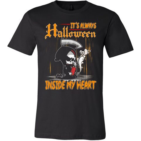 Halloween - It's always inside my heart T-shirt - Vietees Shop Online