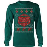 Roll a Crit for - Ugly Christmas Sweatshirt - Vietees Shop Online