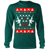 Ar 15 ar15 ugly christmas sweater - Vietees Shop Online