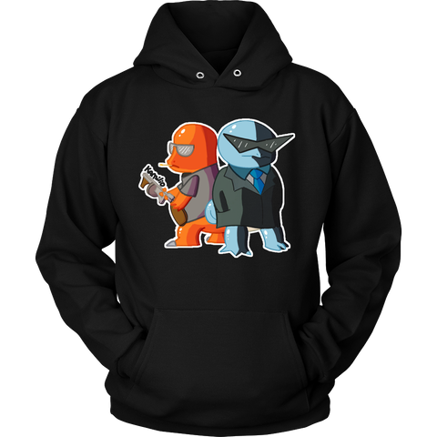 Pokemon Mafia - Charmander and Squirtle Hoodie - Vietees Shop Online - 1