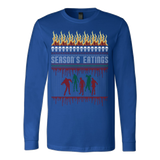 Zombie ugly christmas sweater - Vietees Shop Online - 5