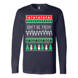 Nurse cna dont be tachy christmas ugly sweater - Vietees Shop Online
