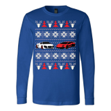 Racing Car Ugly Christmas Sweatshirt - Vietees Shop Online
