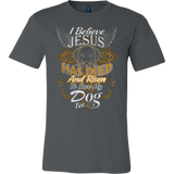 JESUS LOVES MY DOG T-SHIRT - Vietees Shop Online