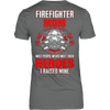 Image of FIREFIGHTER MOM - Vietees Shop Online
