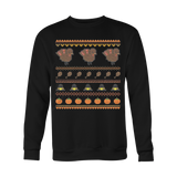 Turkey Thanksgiving Ugly Christmas Sweatshirt - Vietees Shop Online