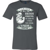 I'M SICK IRISH NEW EDITION T-SHIRT - Vietees Shop Online
