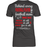 Behind every Football Player - Vietees Shop Online
