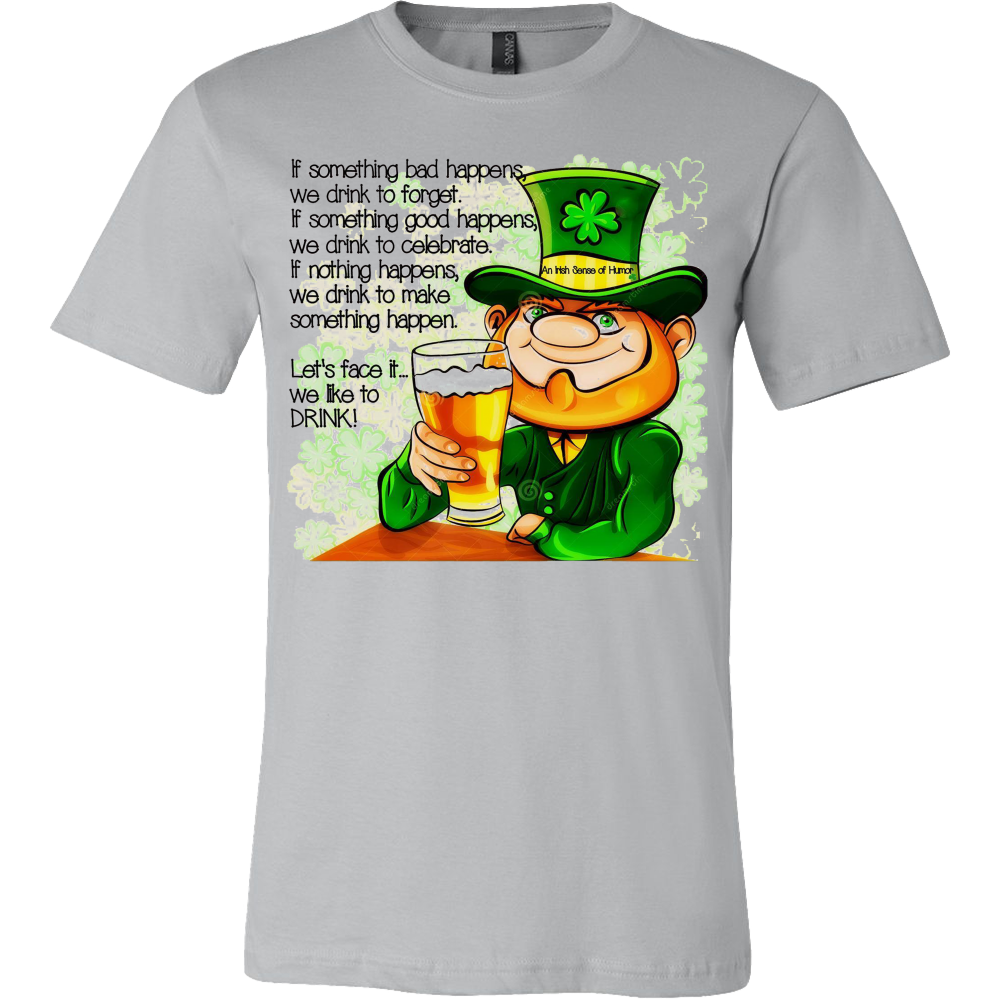 An Irish Sense of Humor T-shirt - Vietees Shop Online