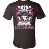 Never underestimate an old man who graduated from Oklahoma State T-shirt - Vietees Shop Online