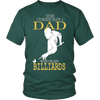 Never Underestimate a Dad who plays Billiards T-shirt - Vietees Shop Online