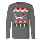 Dachshund through the snow christmas ugly sweater xmas - Vietees Shop Online