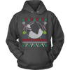 Image of Border Collie Dog Breed Ugly Christmas Sweater Hoodie - Vietees Shop Online