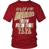 Awesomeness come from Papa - Vietees Shop Online