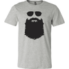 Image of Aviator Glasses And Beard T-Shirt - Vietees Shop Online