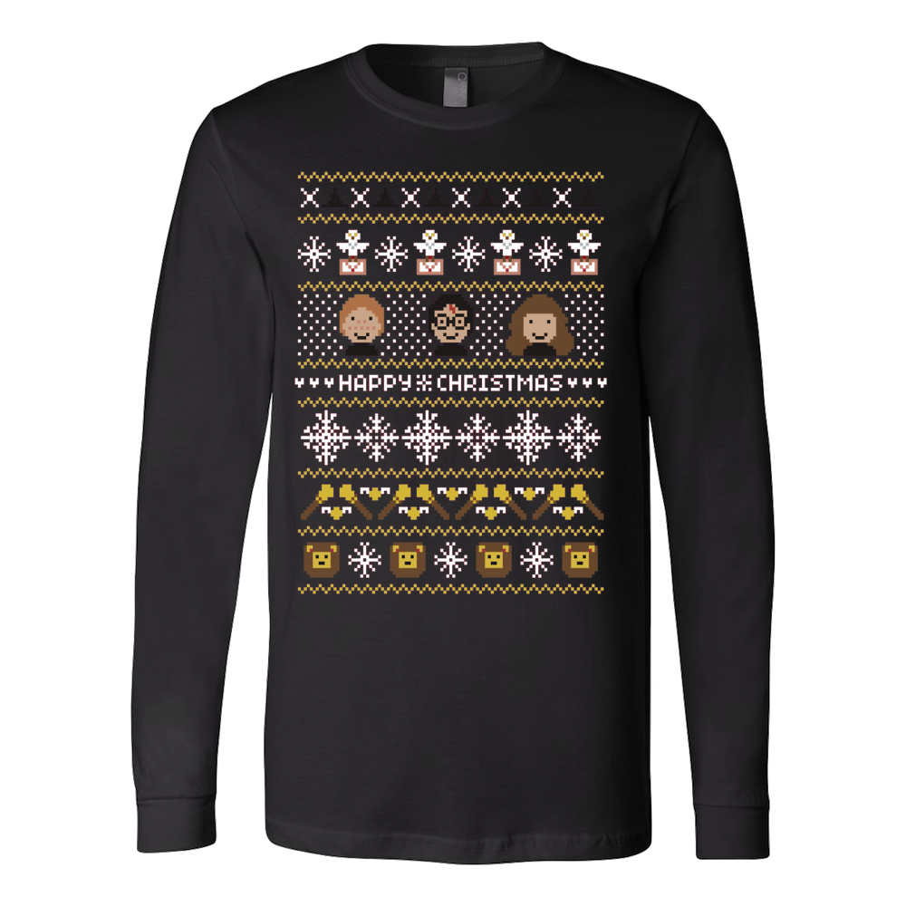 Happy Christmas ugly sweater - Vietees Shop Online - 1