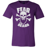Fear the Beard T-shirt - Vietees Shop Online
